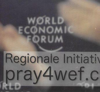 Regionale Initative Pray for WEF